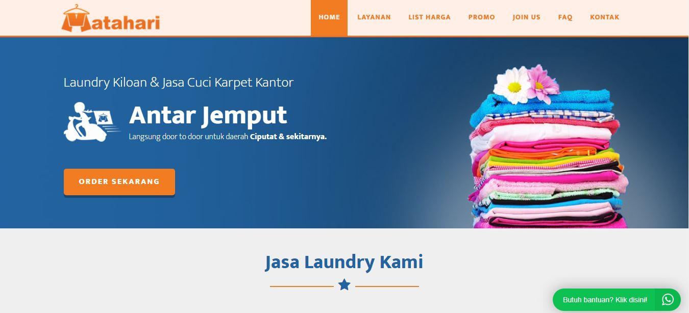 website laundry