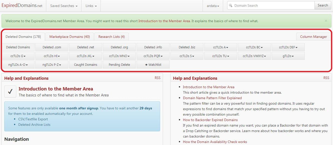 aged domain untuk backlink