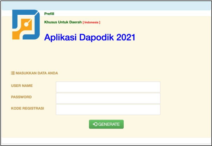 cara install dapodik 2021