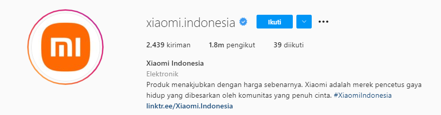 Bio Instagram Teknologi