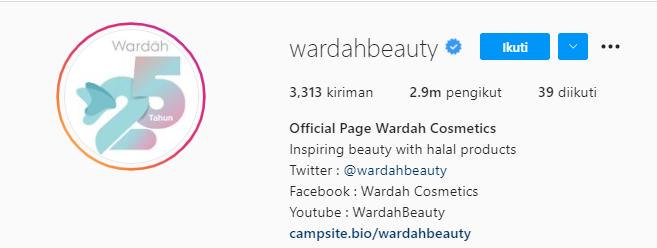 Bio Instagram Skincare / Produk Kecantikan