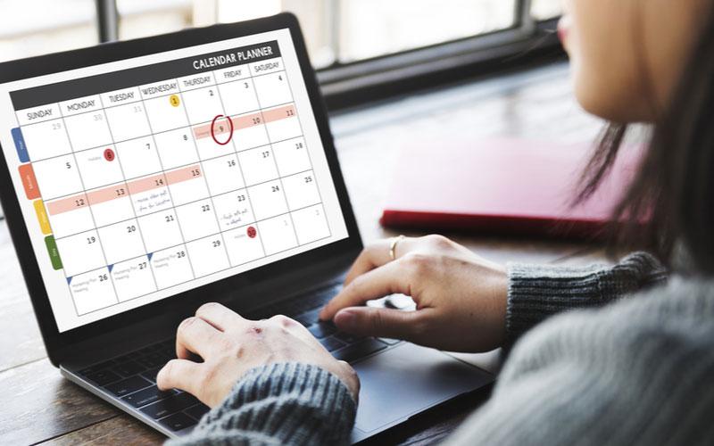 Cara Membuat Content Calendar Instagram 1 Bulan + Template