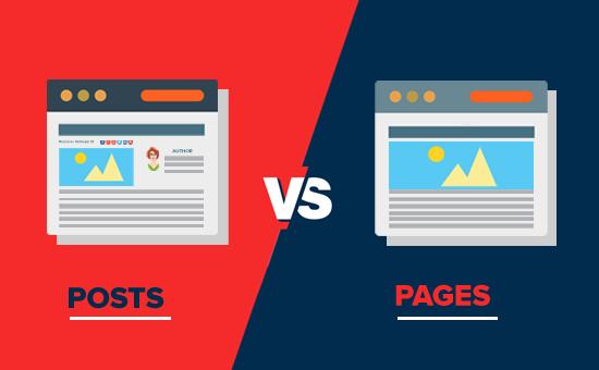 Pages atau Post dalam SEO